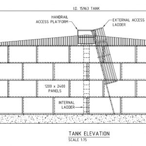 Panel Tank - 22 Round Category